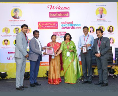 TOP 500 SCHOOLS IN INDIA AWARD BY BRAINFEED INDIA