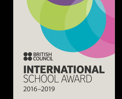 THE BRITISH COUNCIL INTERNATIONAL SCHOOL AWARD (ISA) TO HSR EXTENSION(2016 -19)