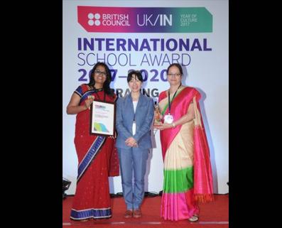 THE BRITISH COUNCIL INTERNATIONAL SCHOOL AWARD (ISA) TO VIDYARANYAPURA (2017-2020)