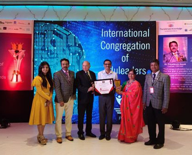 """CED (CENTRE FOR EDUCATIONAL DEVELOPMENT FOUNDATION) AWARDED SAMSIDH GROUP OF SCHOOLS UNDER THE CATEGORY OF """"SCHOOL EXCELLENCE LEADERSHIP AWARD"""" AND """"BEST GREEN SCHOOL AWARD"""" 2018"""