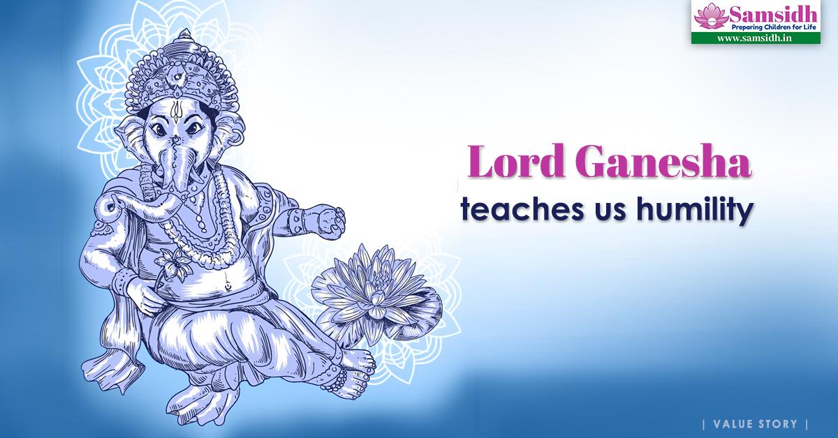 Lord Ganesha Teaches Us Humility