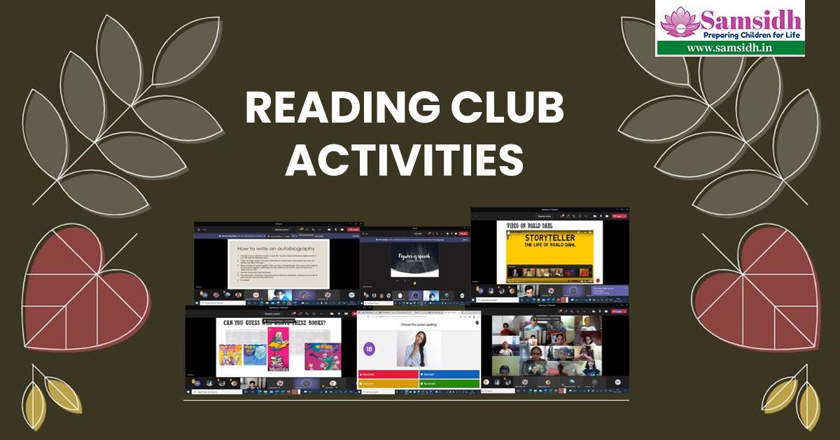 Reading Club Activities